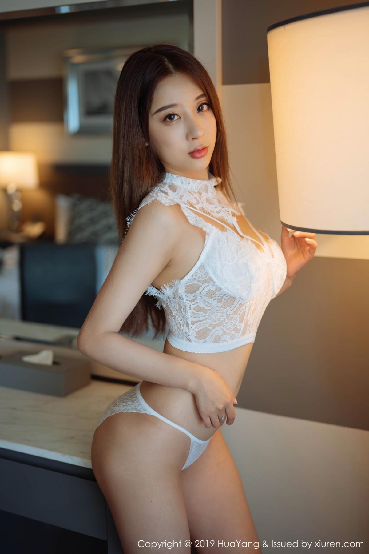 [Huayang] Vol.154 Duan Xiao Hui 7P, Black Silk, Duan Xiao Hui, HuaYang, Tall