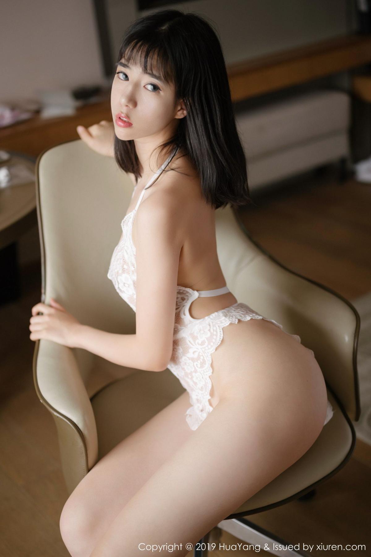 [Huayang] Vol.164 Ai Li Li 1P, Ai Li Li, Black Silk, HuaYang, Underwear