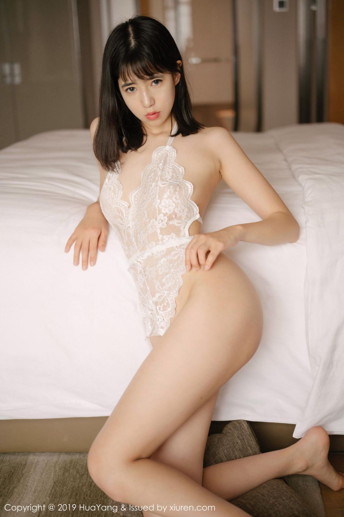 [Huayang] Vol.164 Ai Li Li 2P, Ai Li Li, Black Silk, HuaYang, Underwear