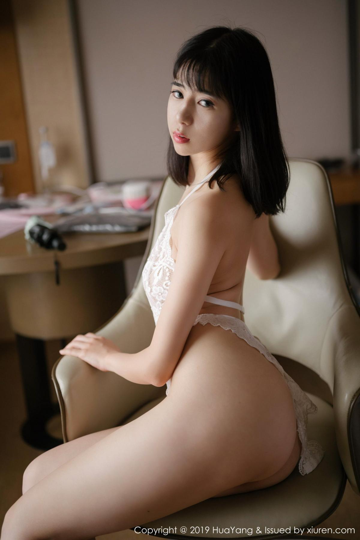 [Huayang] Vol.164 Ai Li Li 32P, Ai Li Li, Black Silk, HuaYang, Underwear