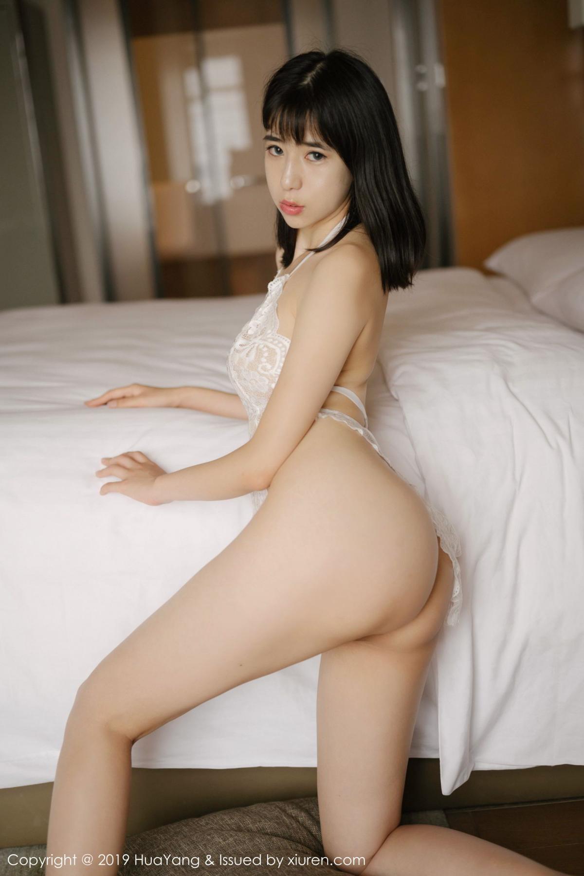 [Huayang] Vol.164 Ai Li Li 37P, Ai Li Li, Black Silk, HuaYang, Underwear