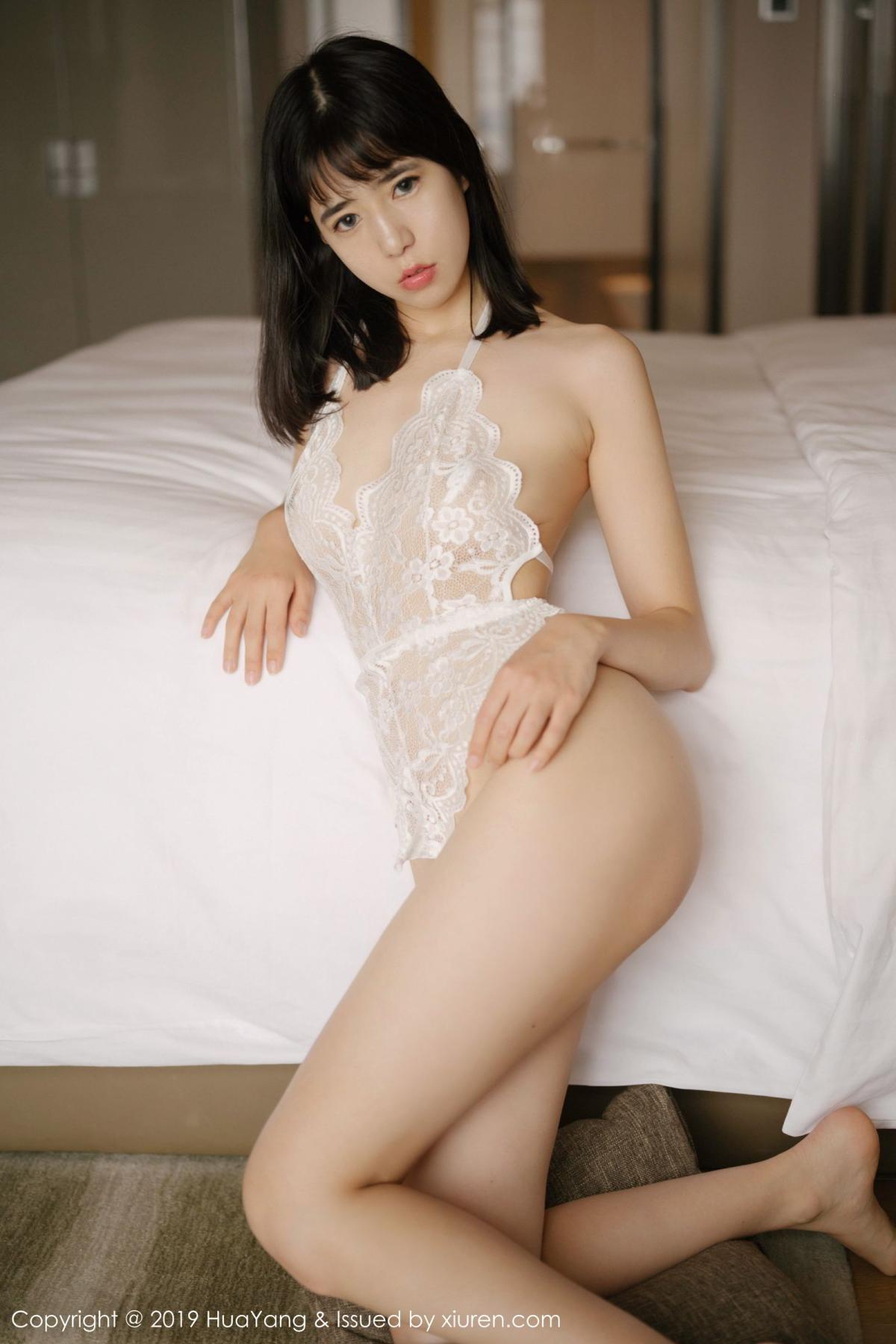 [Huayang] Vol.164 Ai Li Li 38P, Ai Li Li, Black Silk, HuaYang, Underwear