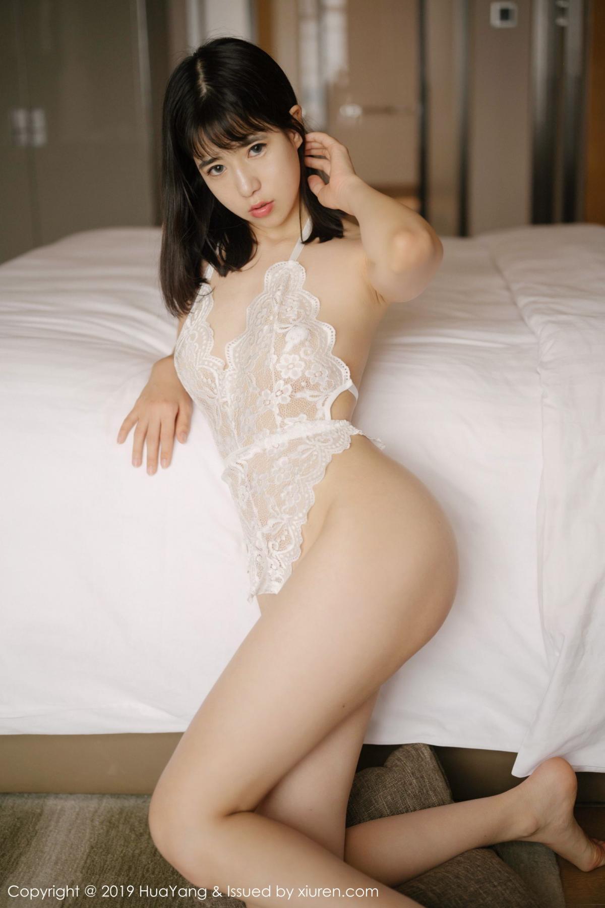 [Huayang] Vol.164 Ai Li Li 39P, Ai Li Li, Black Silk, HuaYang, Underwear