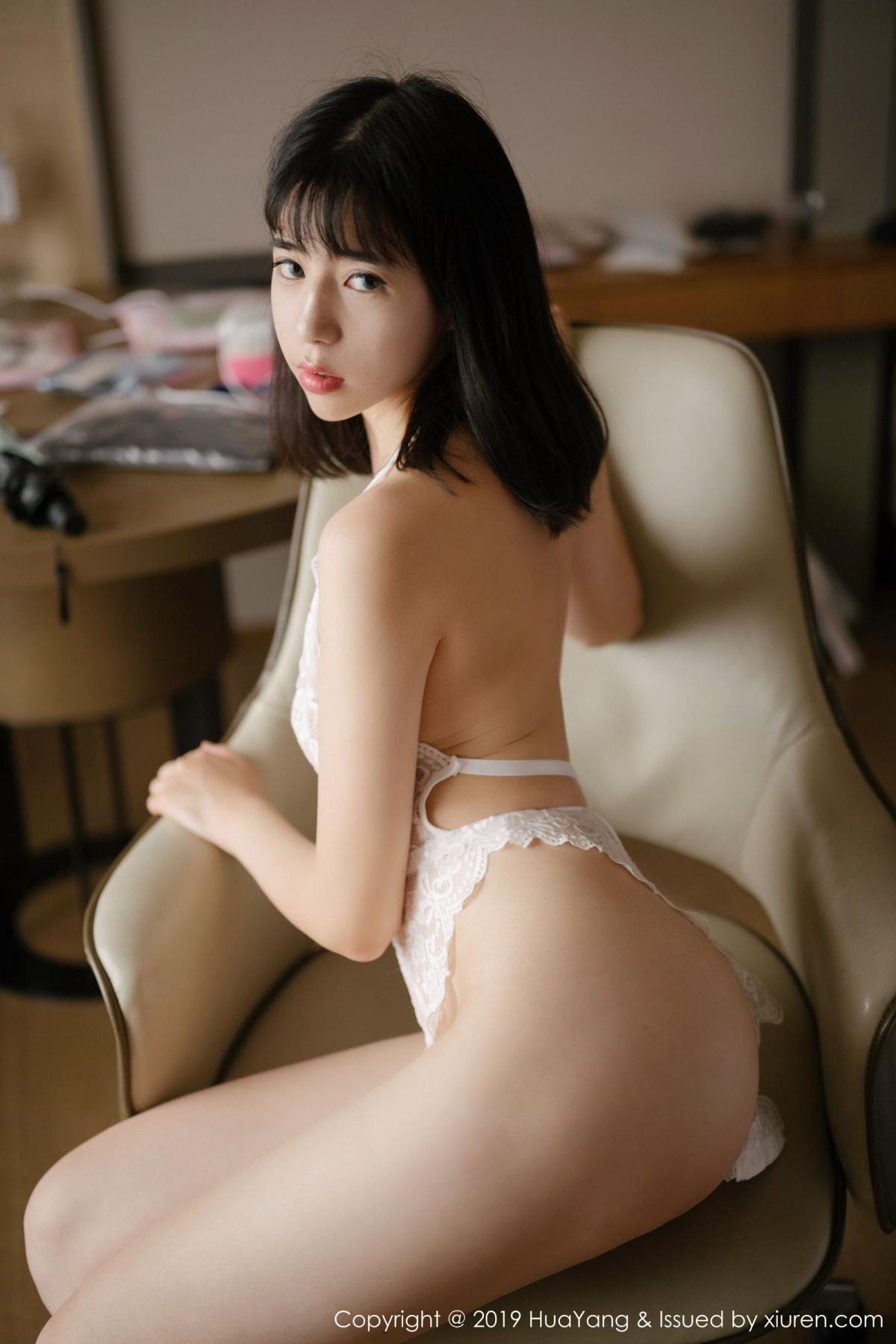 [Huayang] Vol.164 Ai Li Li 3P, Ai Li Li, Black Silk, HuaYang, Underwear