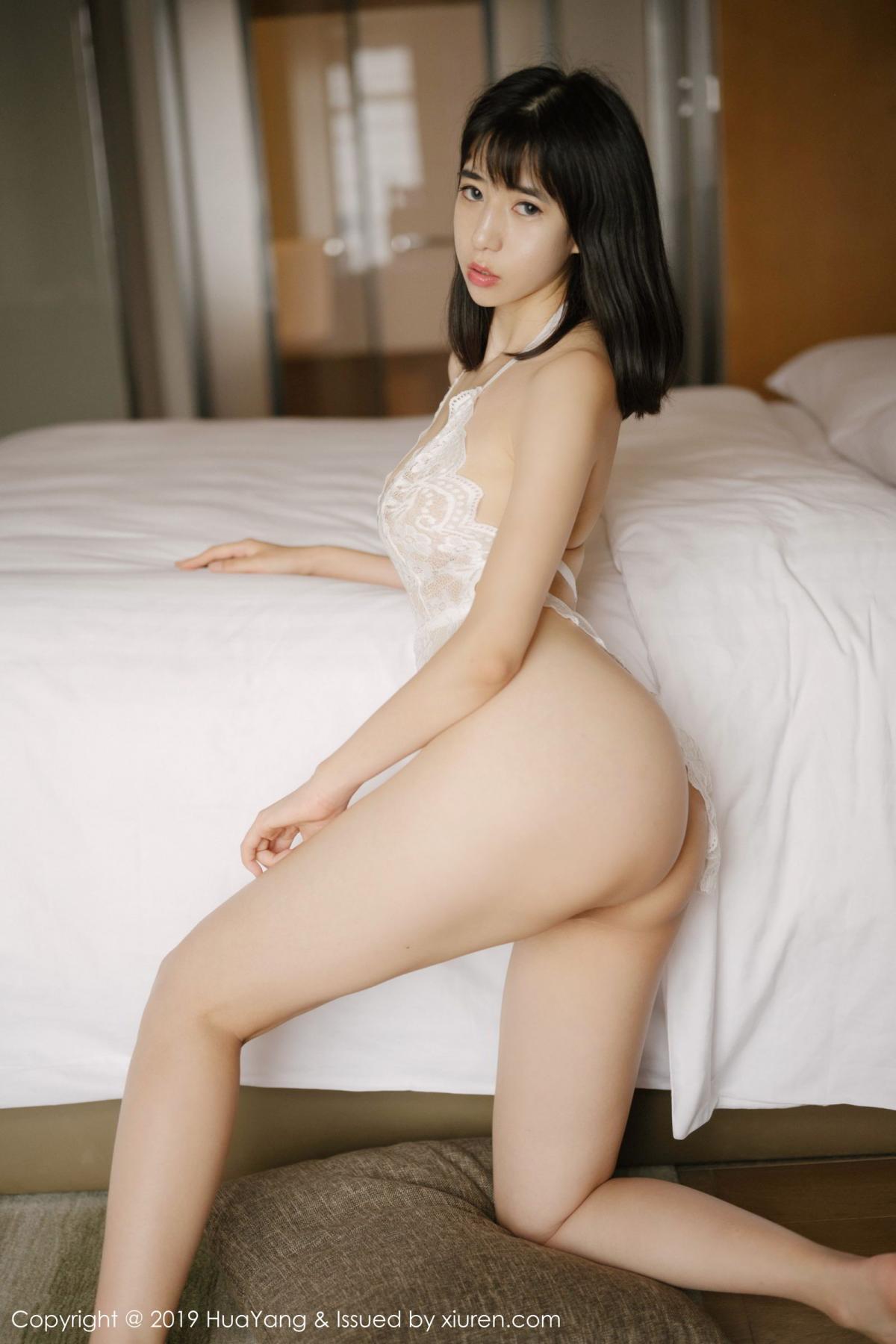 [Huayang] Vol.164 Ai Li Li 6P, Ai Li Li, Black Silk, HuaYang, Underwear