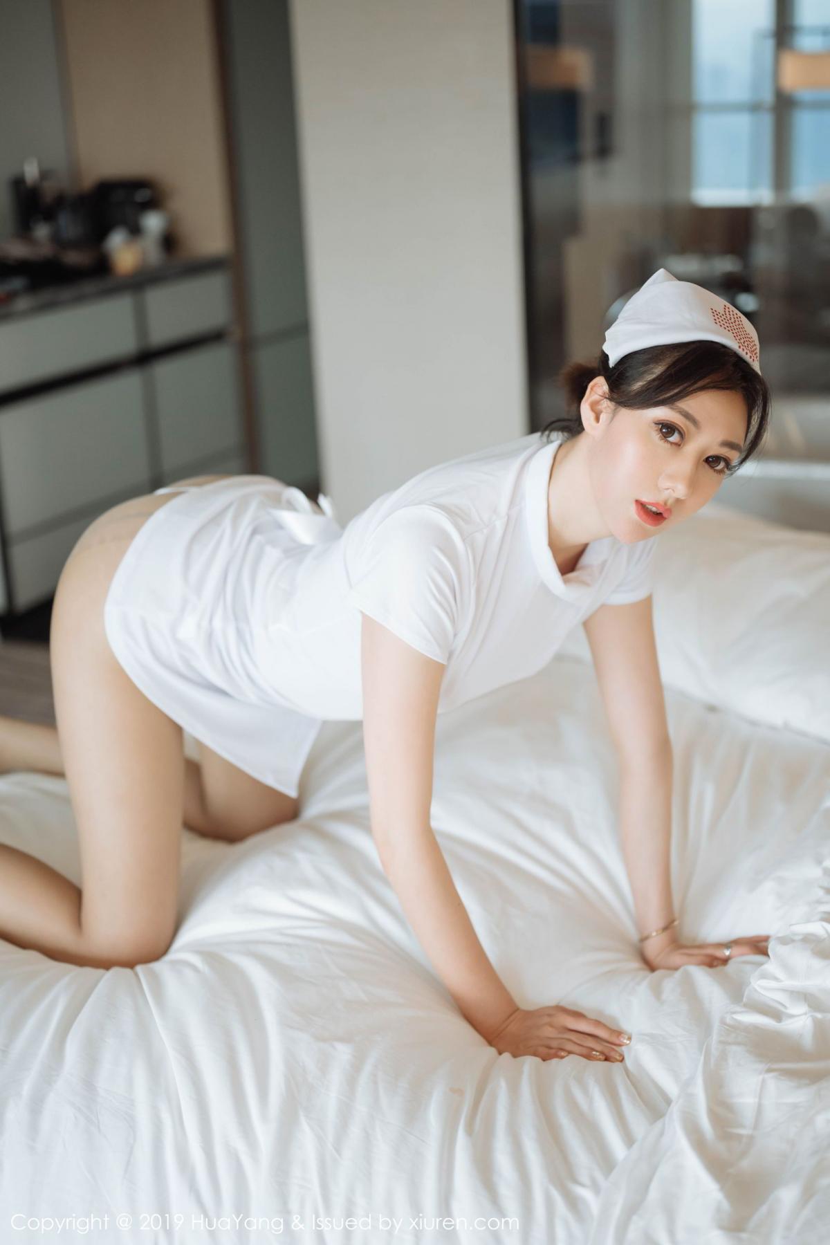 [Huayang] Vol.166 Fu Yi Xuan 10P, Fu Yi Xuan, HuaYang, Nurse, Tall