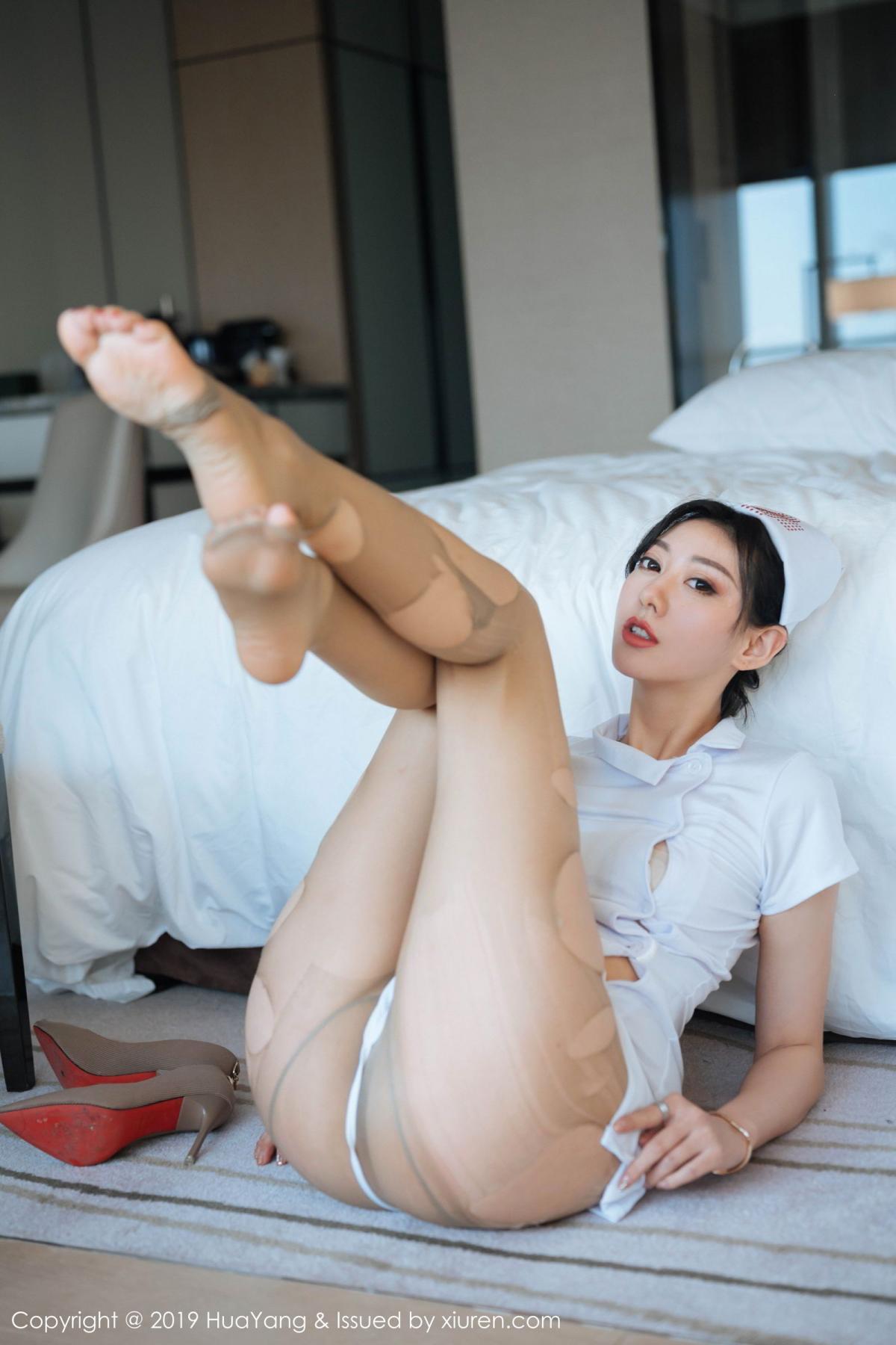 [Huayang] Vol.166 Fu Yi Xuan 1P, Fu Yi Xuan, HuaYang, Nurse, Tall
