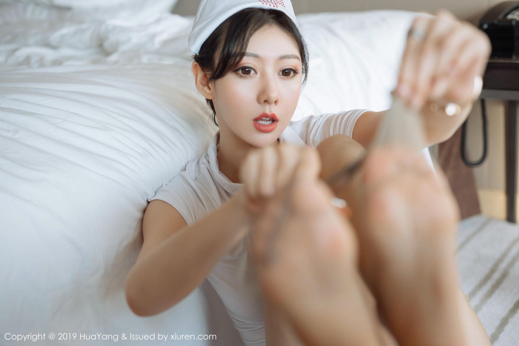[Huayang] Vol.166 Fu Yi Xuan 26P, Fu Yi Xuan, HuaYang, Nurse, Tall