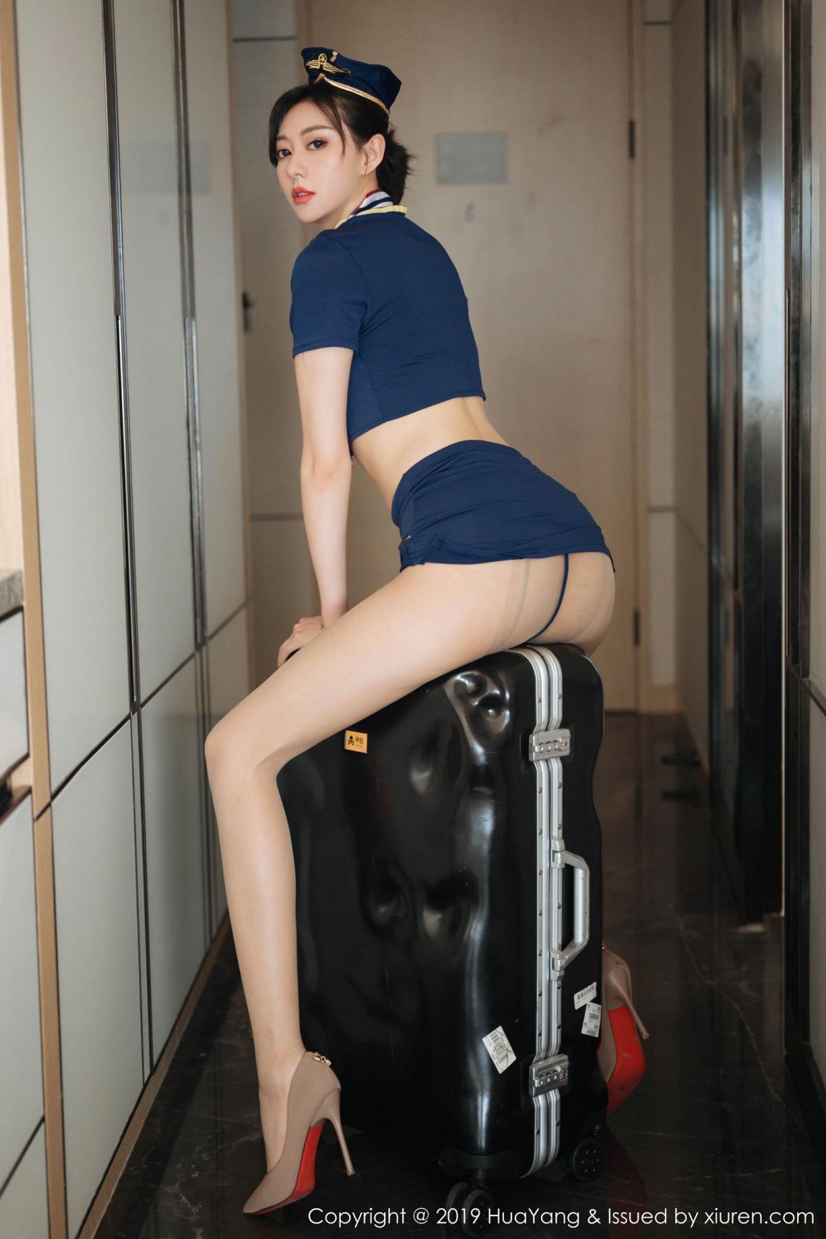[Huayang] Vol.168 Fu Yi Xuan 29P, Fu Yi Xuan, HuaYang, Stewardess, Tall