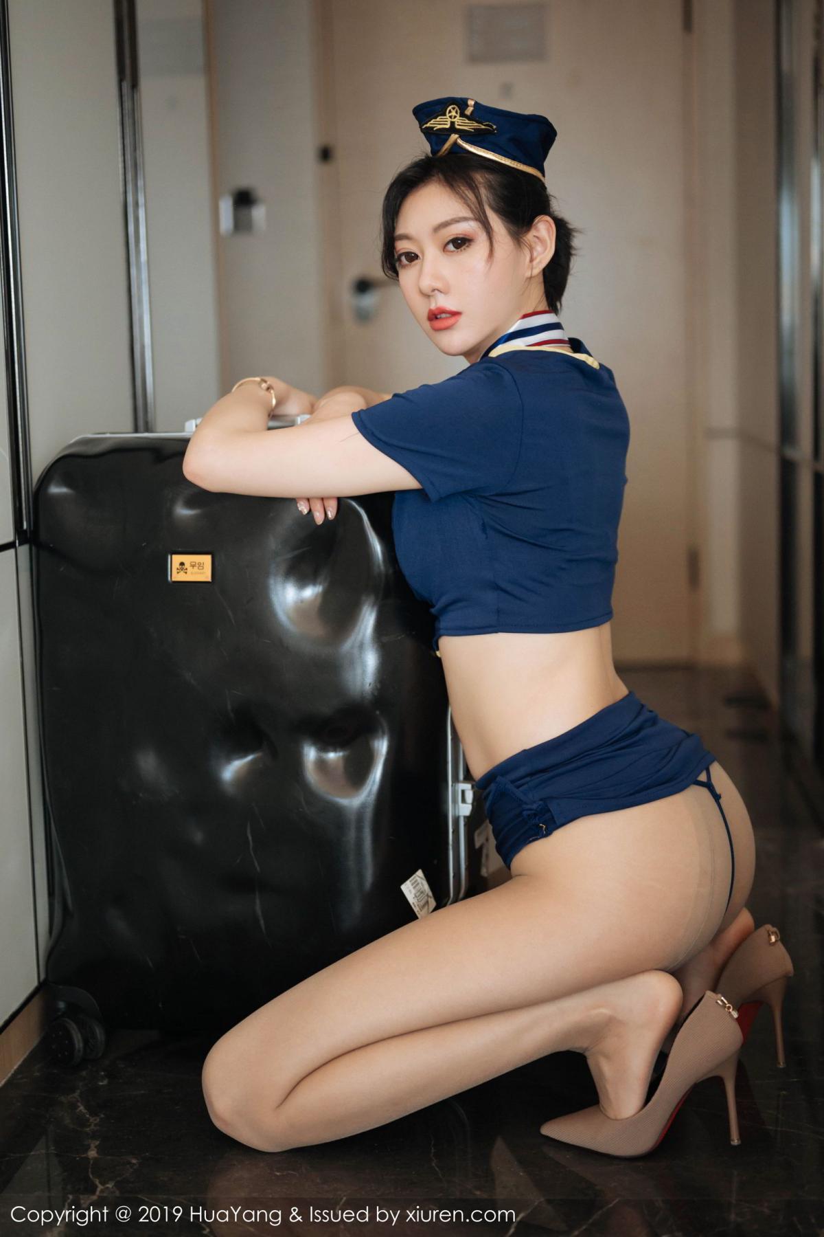 [Huayang] Vol.168 Fu Yi Xuan 39P, Fu Yi Xuan, HuaYang, Stewardess, Tall