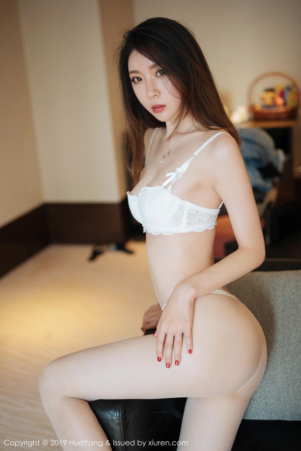 [Huayang] Vol.170 Meng Xin Yue 17P, HuaYang, Meng Xin Yue, Tall, Underwear