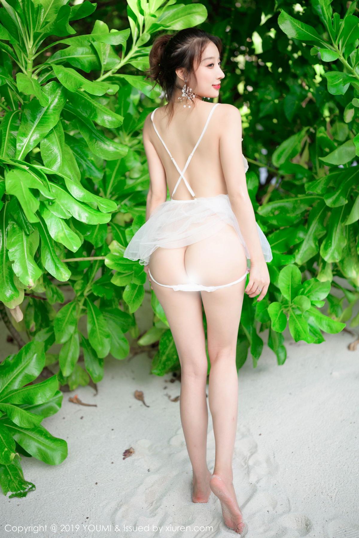 [Huayang] Vol.191 Duan Xiao Hui 9P, Beach, Duan Xiao Hui, HuaYang, Underwear