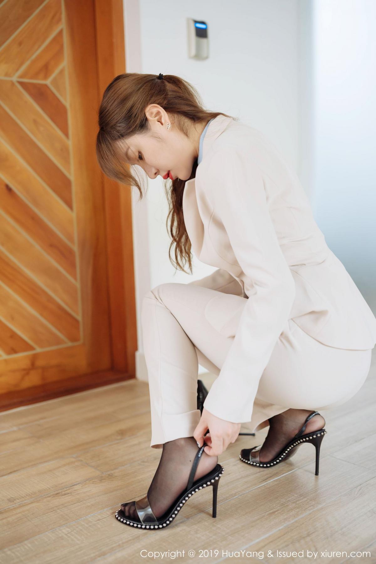 [Huayang] Vol.192 Wang Yu Chun 7P, HuaYang, Underwear, Uniform, Wang Yu Chun