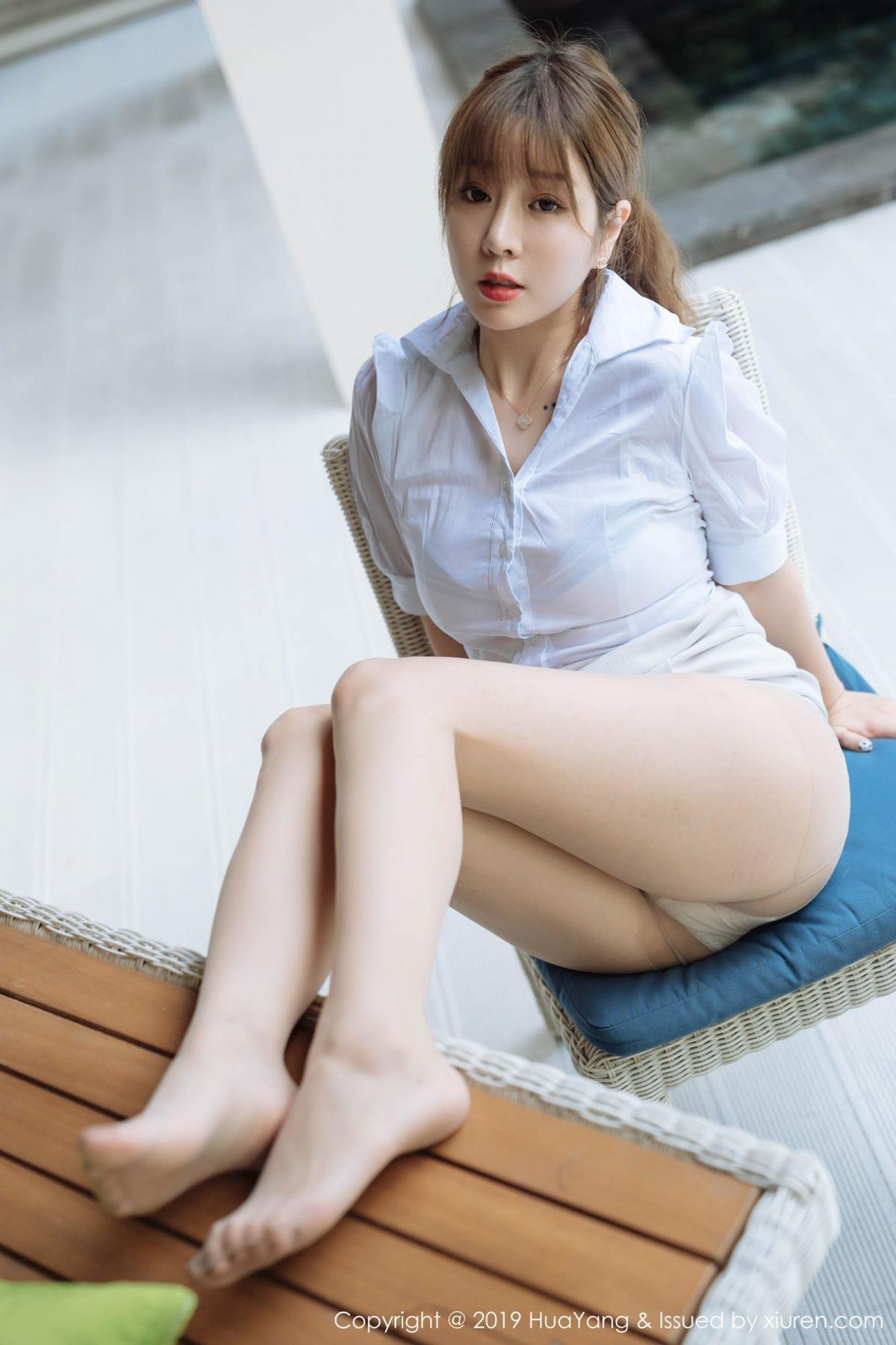 [Huayang] Vol.195 Wang Yu Chun 49P, Foot, HuaYang, Uniform, Wang Yu Chun