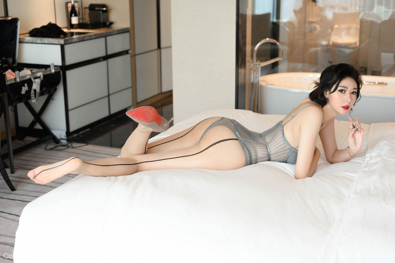 [Huayang] Vol.201 Fu Yi Xuan 37P, Fu Yi Xuan, HuaYang, Temperament, Underwear