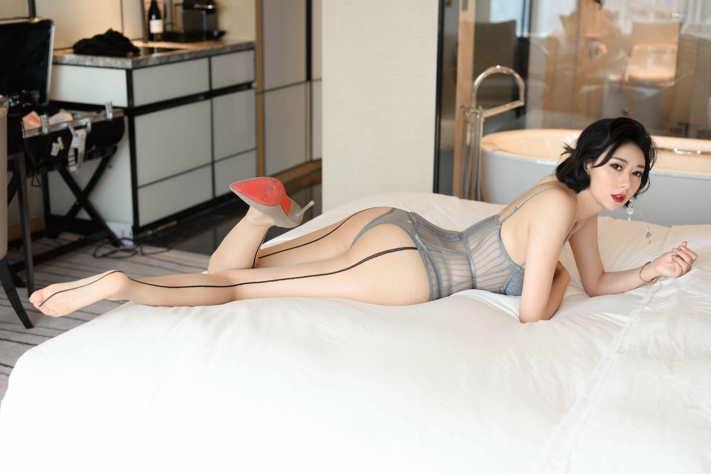 [Huayang] Vol.201 Fu Yi Xuan 38P, Fu Yi Xuan, HuaYang, Temperament, Underwear