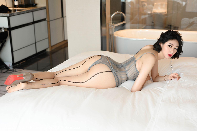 [Huayang] Vol.201 Fu Yi Xuan 39P, Fu Yi Xuan, HuaYang, Temperament, Underwear