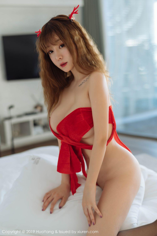 [Huayang] Vol.203 Wang Yu Chun 29P, Christmas, HuaYang, Wang Yu Chun