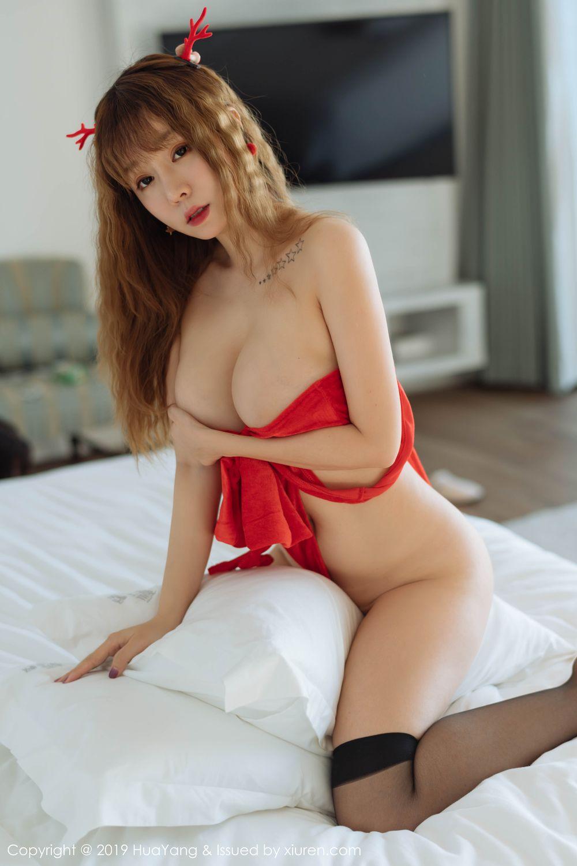 [Huayang] Vol.203 Wang Yu Chun 30P, Christmas, HuaYang, Wang Yu Chun