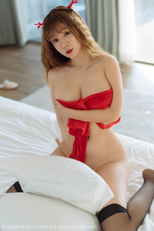 [Huayang] Vol.203 Wang Yu Chun 33P, Christmas, HuaYang, Wang Yu Chun