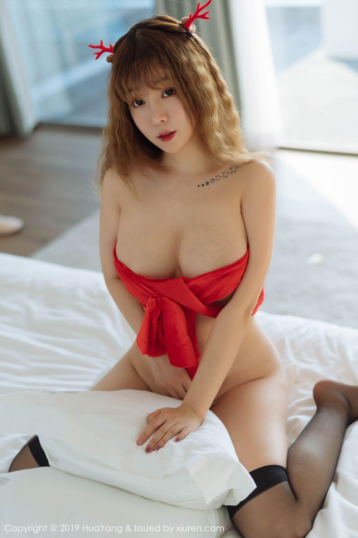 [Huayang] Vol.203 Wang Yu Chun 34P, Christmas, HuaYang, Wang Yu Chun