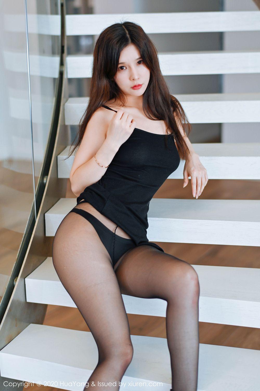[Huayang] Vol.208 Zhang Yu Meng 14P, Black Silk, Chun Xiao Xi, HuaYang, Tall
