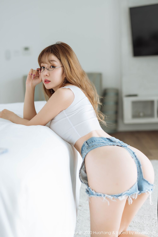 [Huayang] Vol.210 Wang Yu Chun 31P, Big Booty, HuaYang, Wang Yu Chun