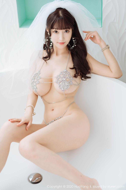 [Huayang] Vol.214 Zhu Ke Er 3P, HuaYang, Underwear, Zhu Ke Er