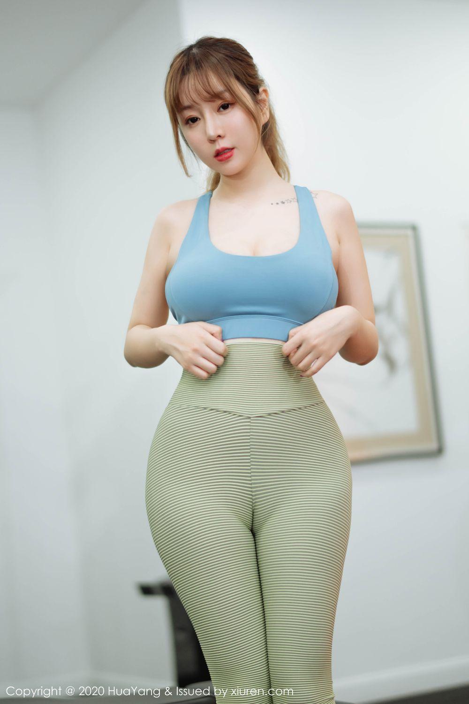 [Huayang] Vol.218 Wang Yu Chun 5P, Big Booty, HuaYang, Wang Yu Chun