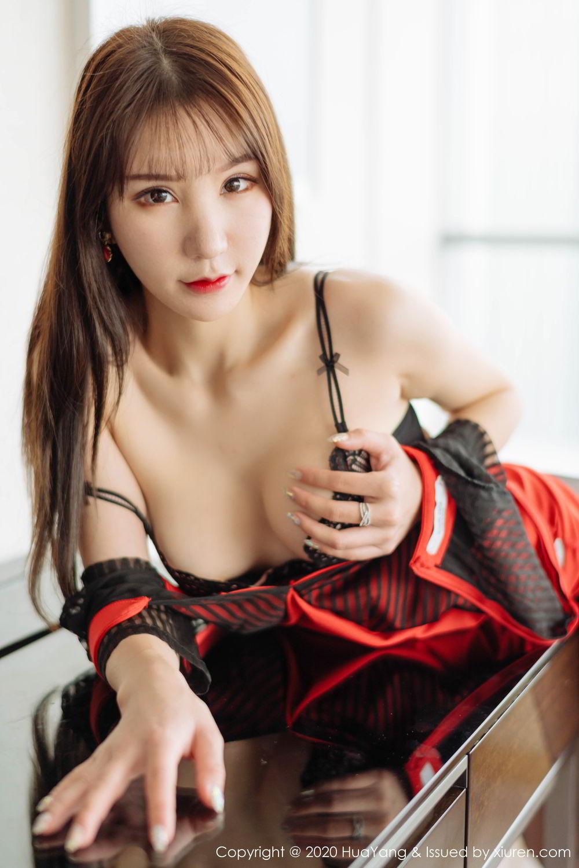 [Huayang] Vol.225 Zhou Yu Xi 43P, Black Silk, HuaYang, Tall, Zhou Yu Xi