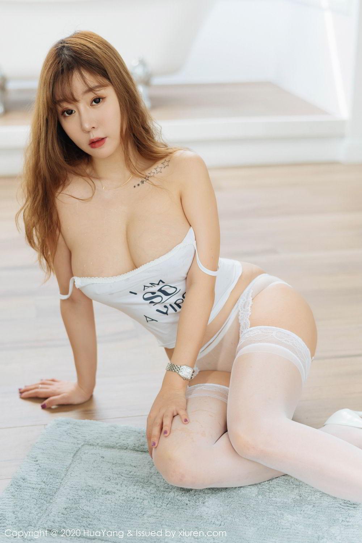 [Huayang] Vol.227 Wang Yu Chun 49P, Big Booty, HuaYang, Wang Yu Chun