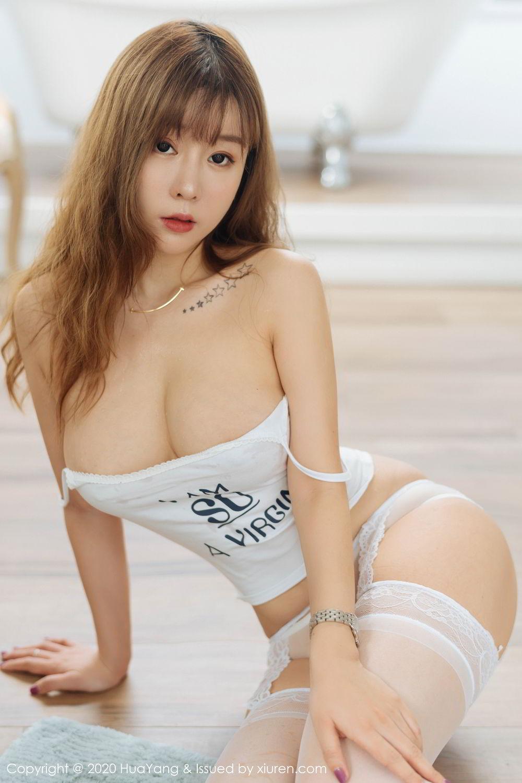 [Huayang] Vol.227 Wang Yu Chun 52P, Big Booty, HuaYang, Wang Yu Chun