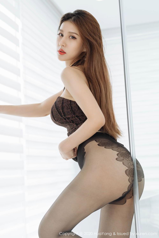 [Huayang] Vol.239 Xu An An 16P, Bathroom, Black Silk, HuaYang, Xu An An