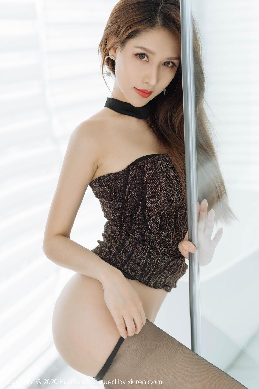 [Huayang] Vol.239 Xu An An 33P, Bathroom, Black Silk, HuaYang, Xu An An