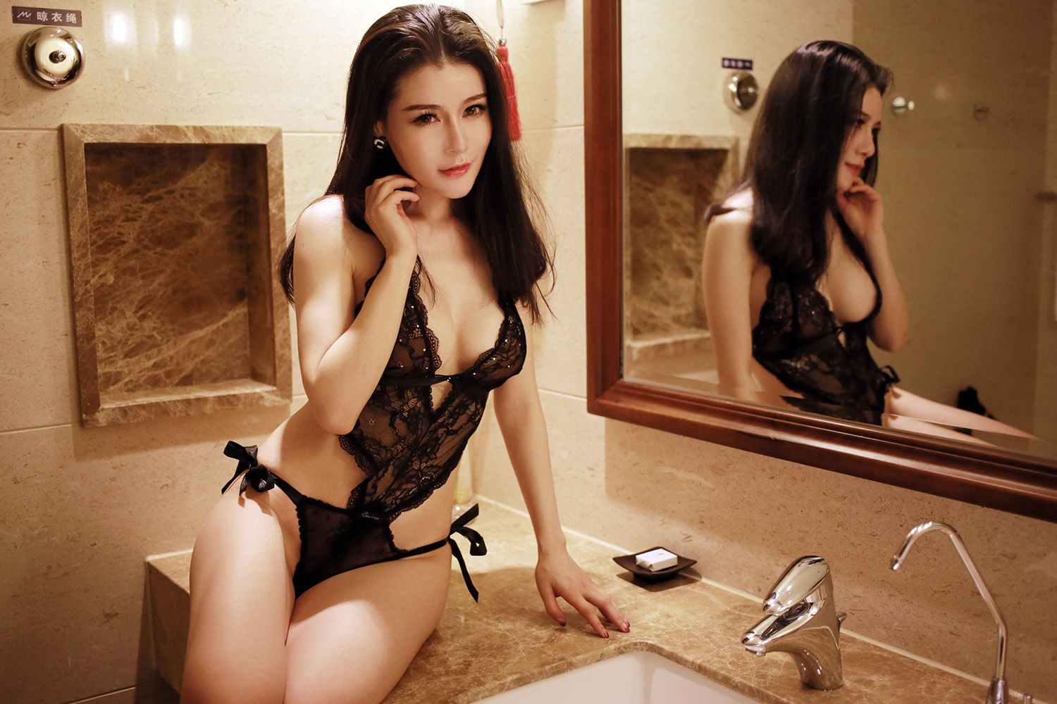 [MyGirl] Vol.010 Nancy Xiao Zi 50P, Bikini, mygirl, Nancy Xiao Zi
