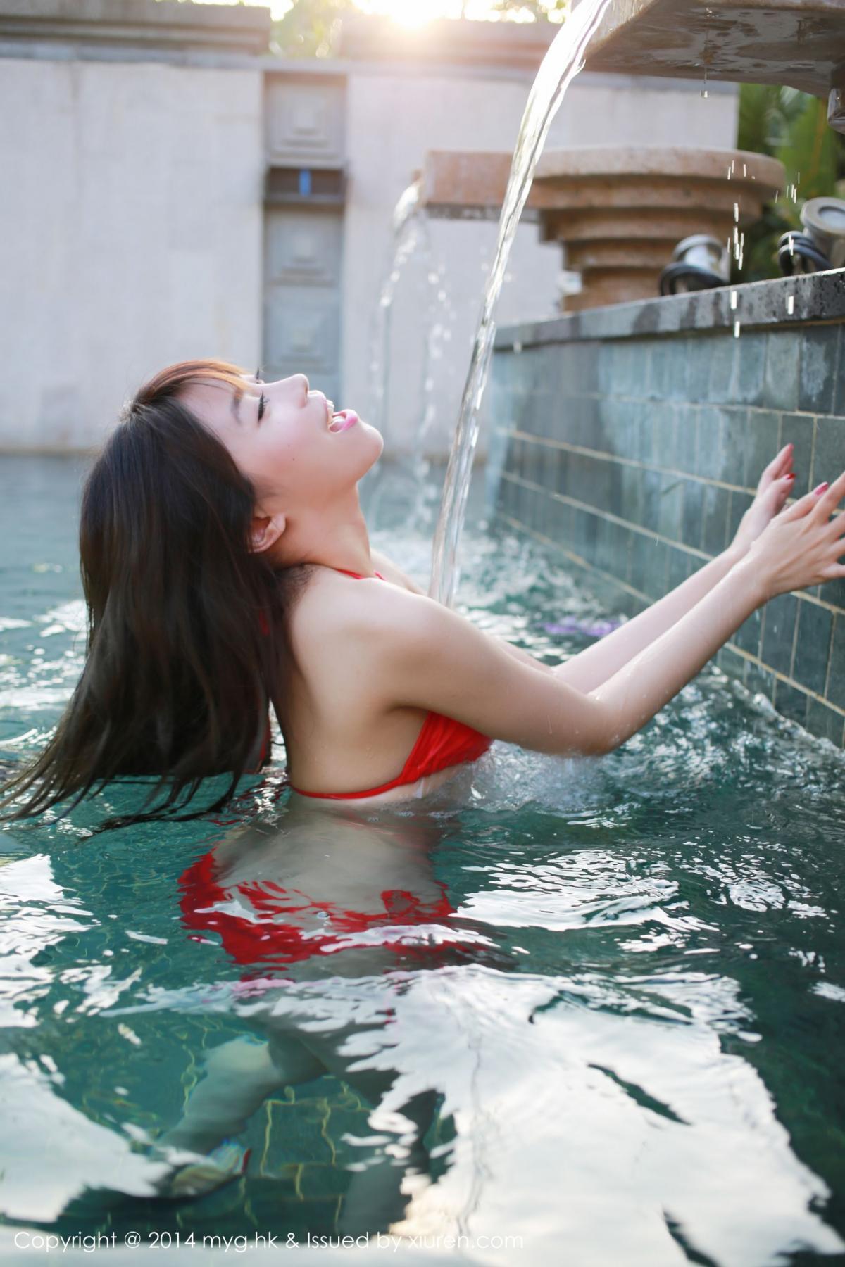 [MyGirl] Vol.010 Xu Nuo 35P, Bikini, mygirl, Wet, Xu Nuo