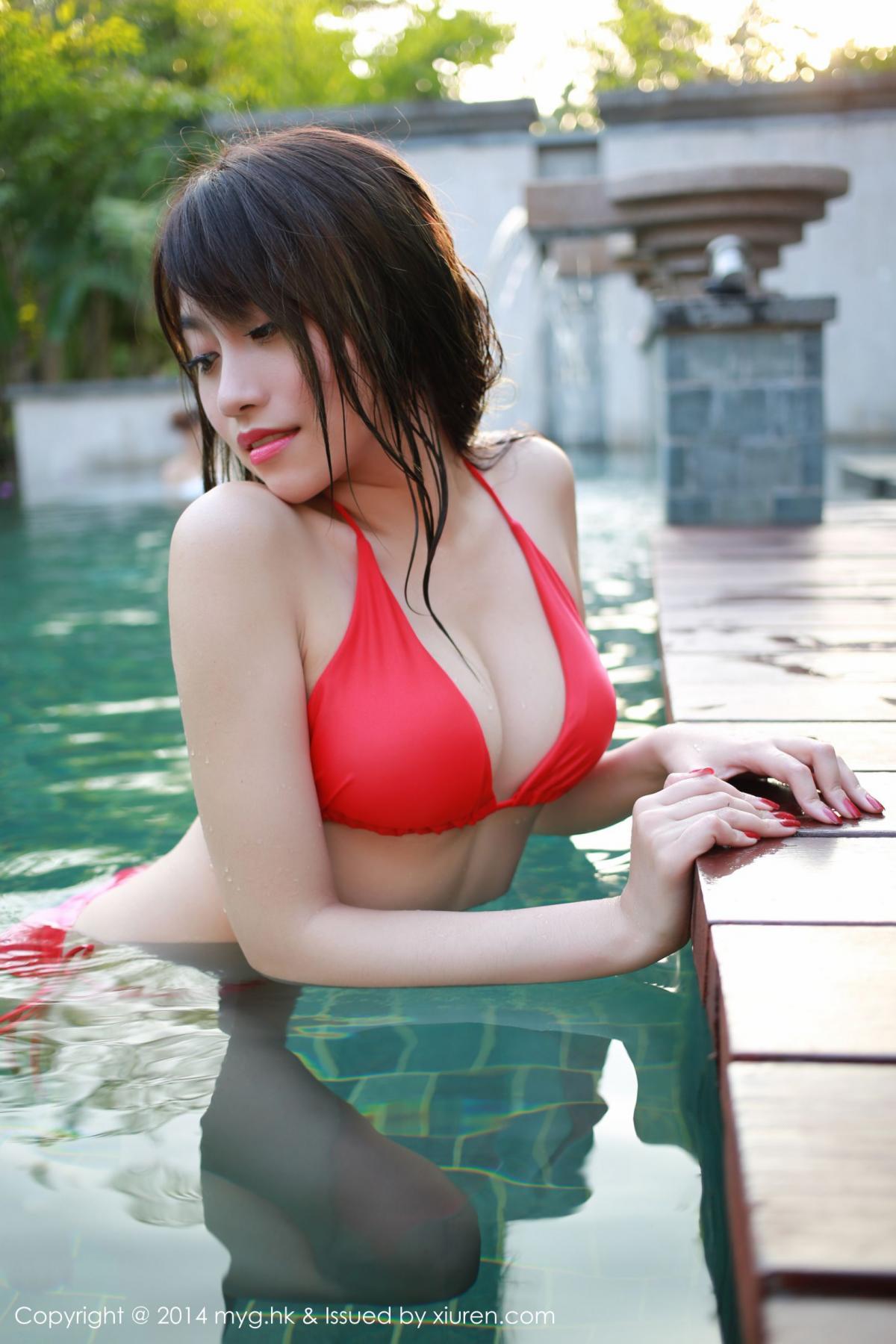 [MyGirl] Vol.010 Xu Nuo 46P, Bikini, mygirl, Wet, Xu Nuo