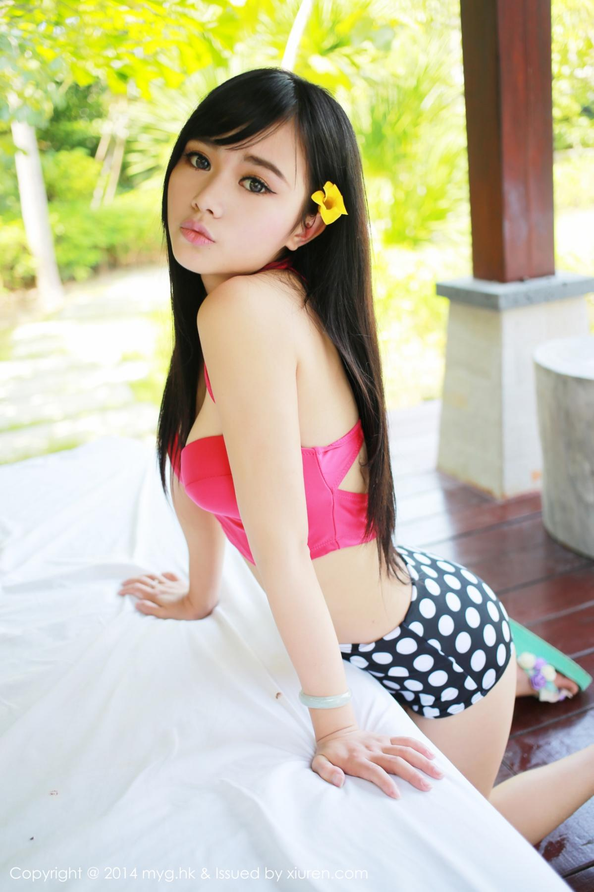 [MyGirl] Vol.012 Yu Zhu 76P, Lovely, Pure, Yu Zhu