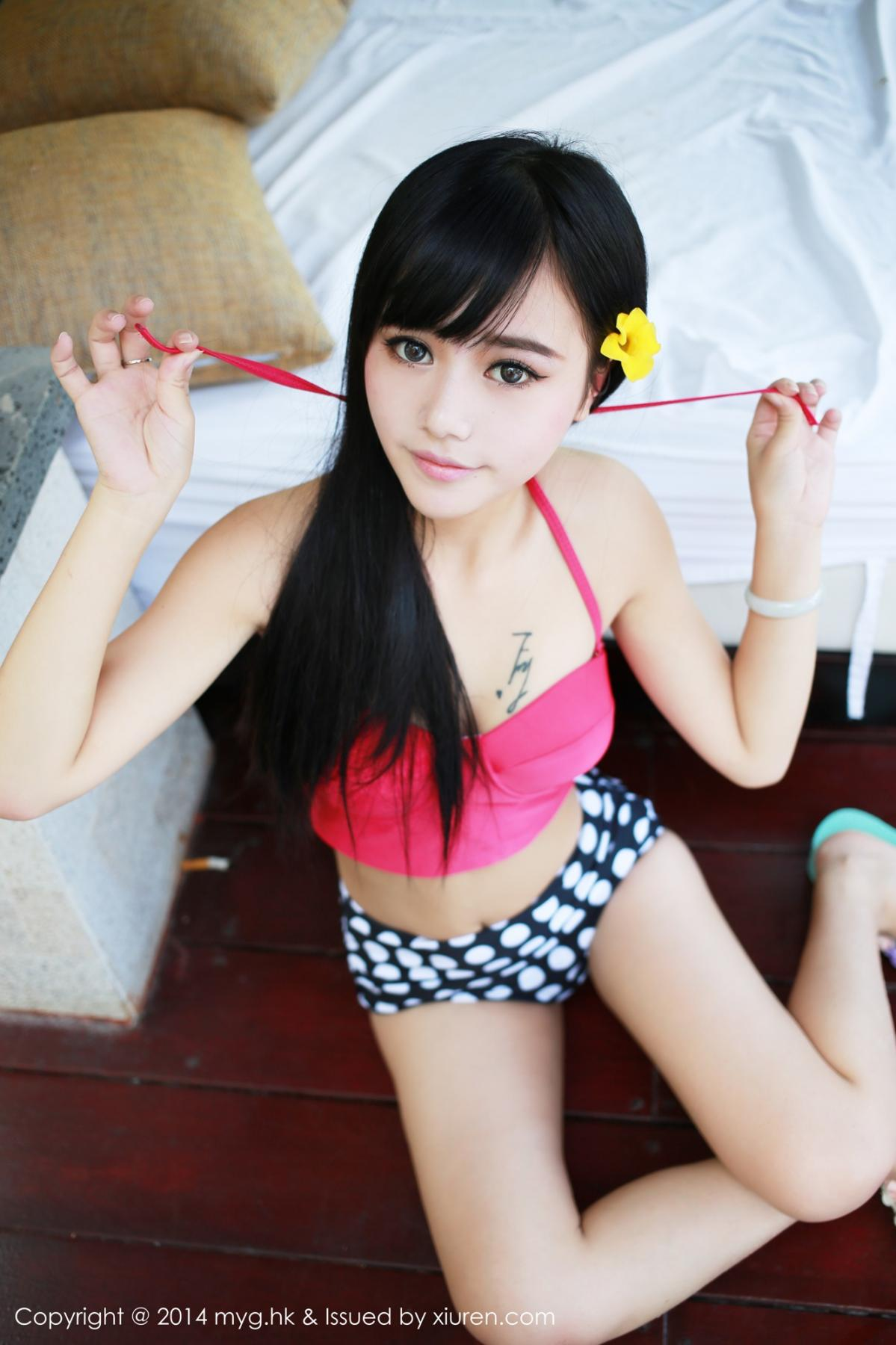 [MyGirl] Vol.012 Yu Zhu 77P, Lovely, Pure, Yu Zhu