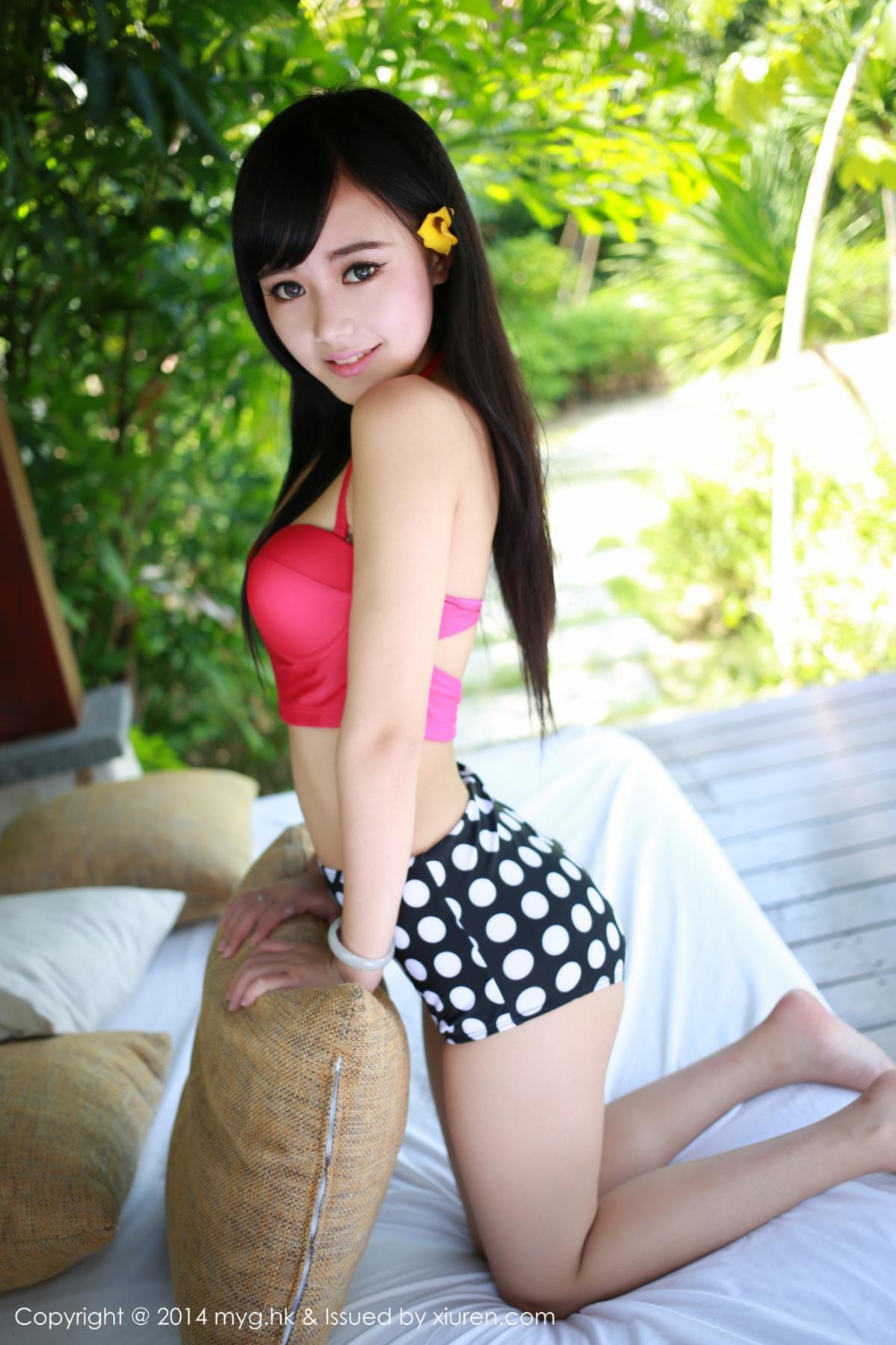 [MyGirl] Vol.012 Yu Zhu 89P, Lovely, Pure, Yu Zhu