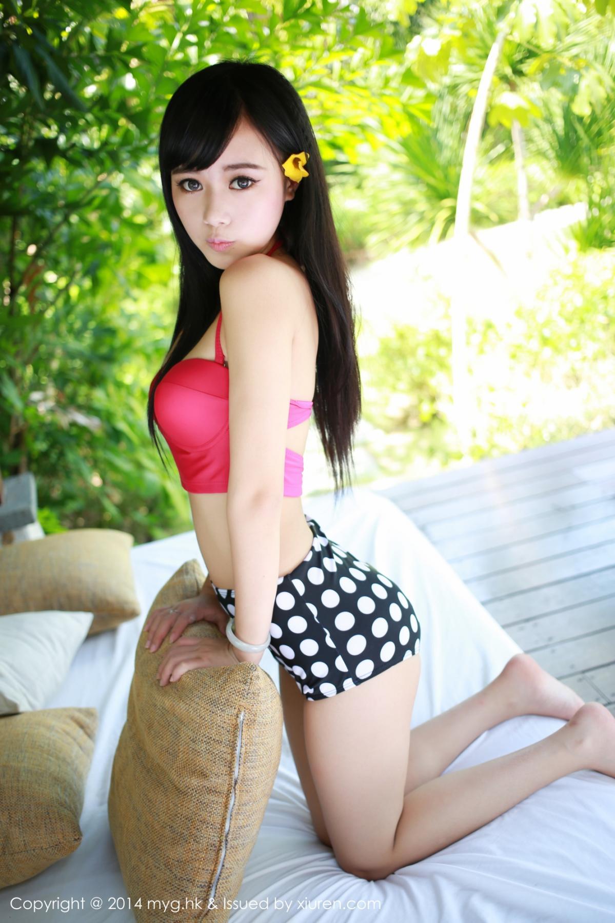 [MyGirl] Vol.012 Yu Zhu 90P, Lovely, Pure, Yu Zhu