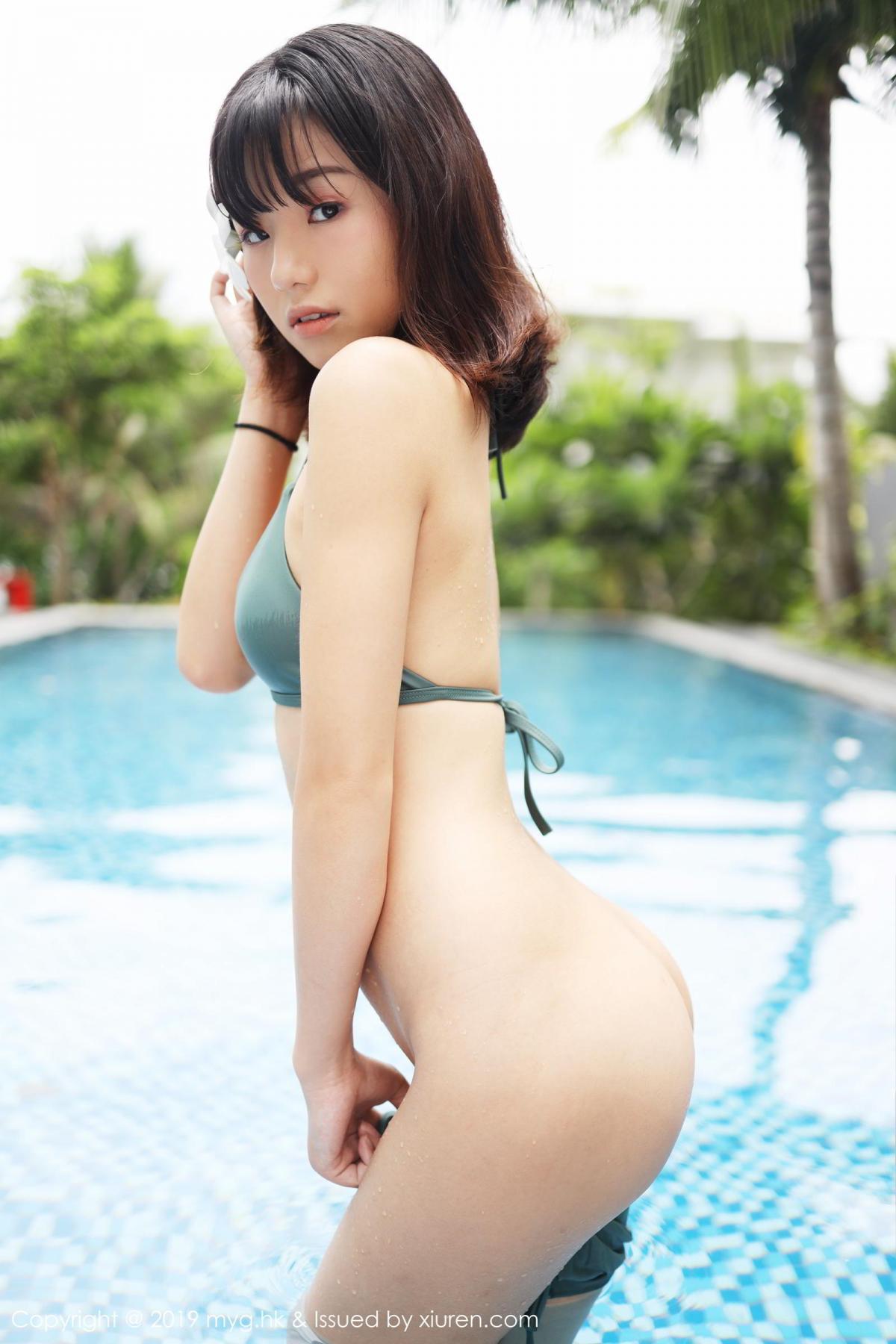 [MyGirl] Vol.362 Cang Jing You Xiang 28P, Bikini, Cang Jing You Xiang, mygirl, Swim Pool