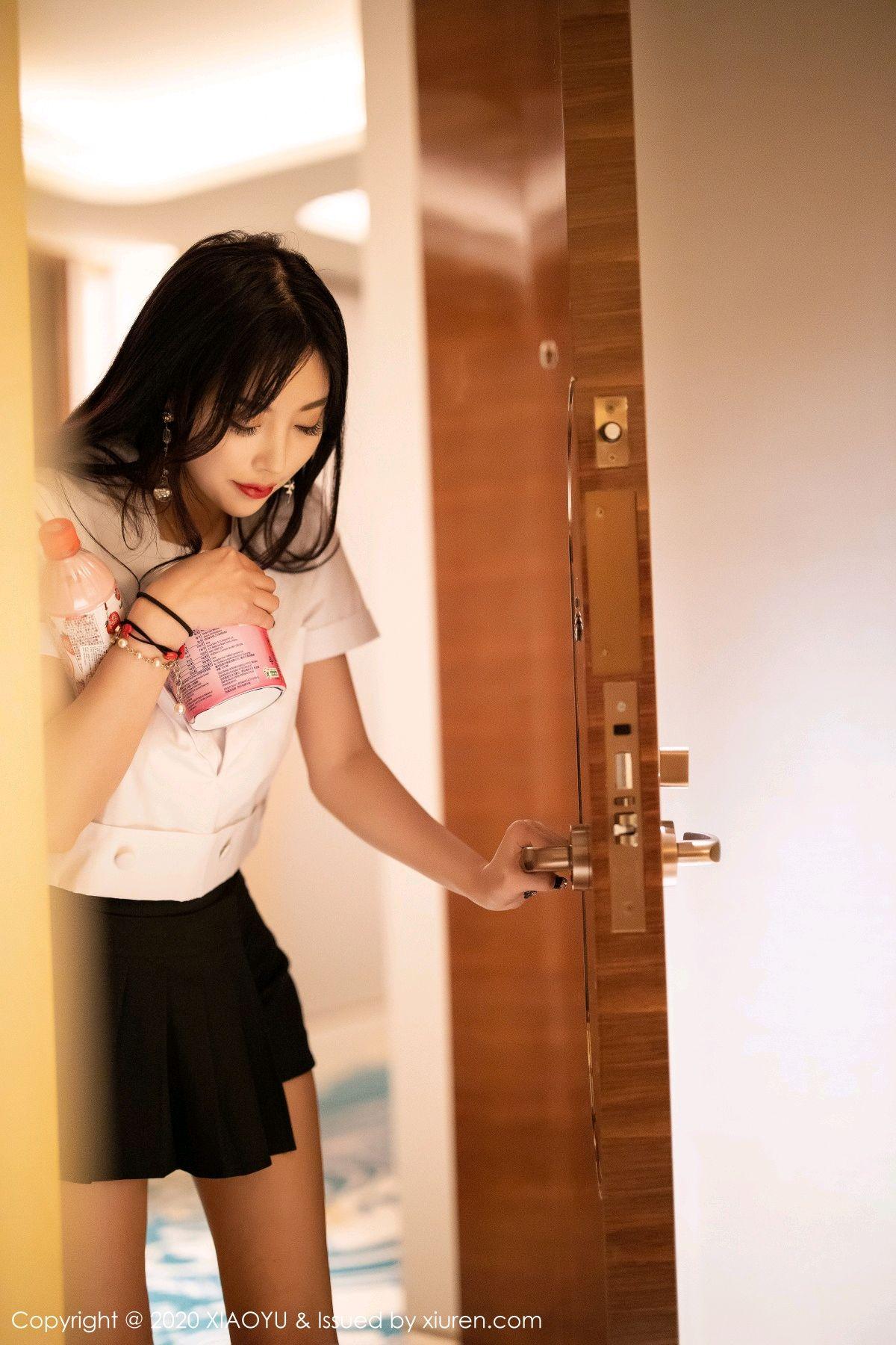 [XIAOYU] Vol.305 Yang Chen Chen 12P, Sexy, Underwear, Uniform, XiaoYu, Yang Chen Chen