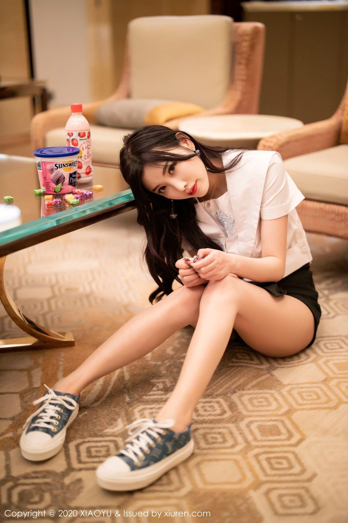 [XIAOYU] Vol.305 Yang Chen Chen 14P, Sexy, Underwear, Uniform, XiaoYu, Yang Chen Chen