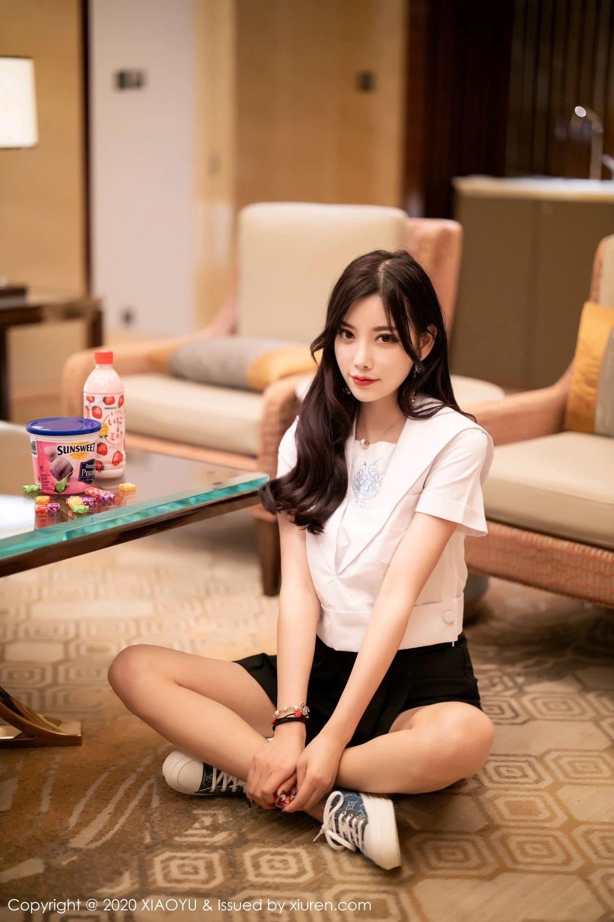 [XIAOYU] Vol.305 Yang Chen Chen 15P, Sexy, Underwear, Uniform, XiaoYu, Yang Chen Chen
