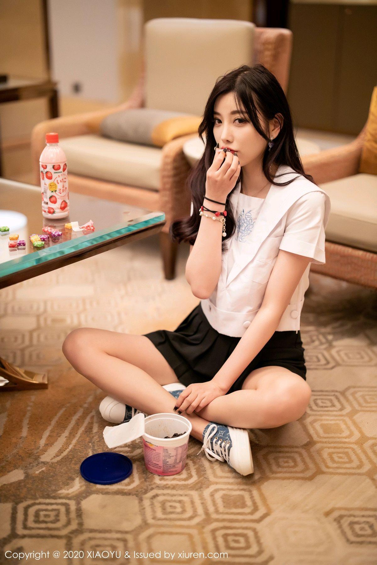 [XIAOYU] Vol.305 Yang Chen Chen 16P, Sexy, Underwear, Uniform, XiaoYu, Yang Chen Chen