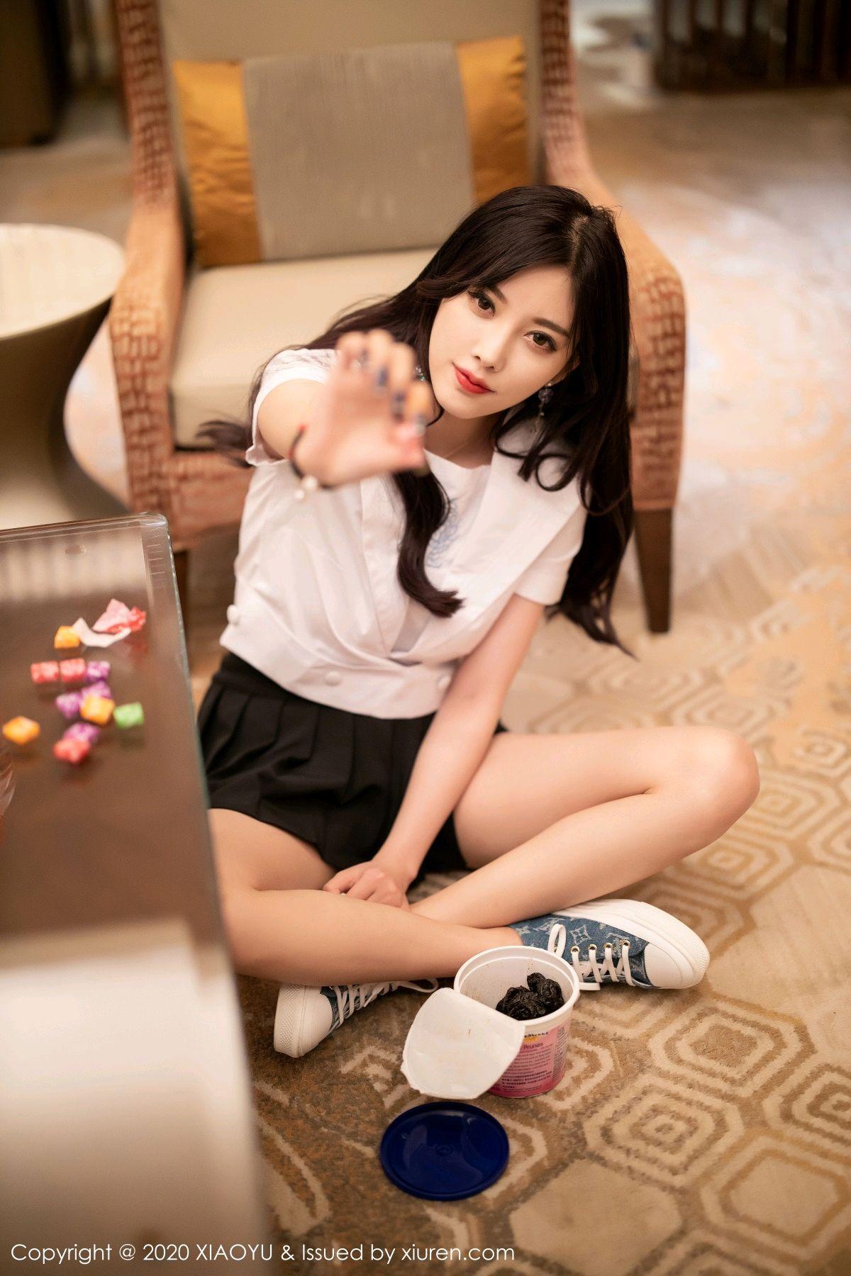 [XIAOYU] Vol.305 Yang Chen Chen 17P, Sexy, Underwear, Uniform, XiaoYu, Yang Chen Chen