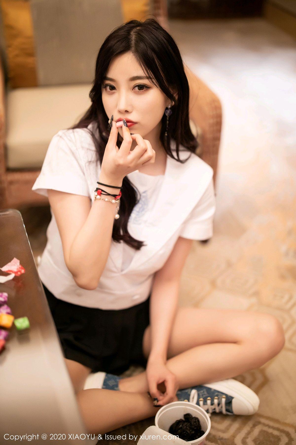 [XIAOYU] Vol.305 Yang Chen Chen 18P, Sexy, Underwear, Uniform, XiaoYu, Yang Chen Chen