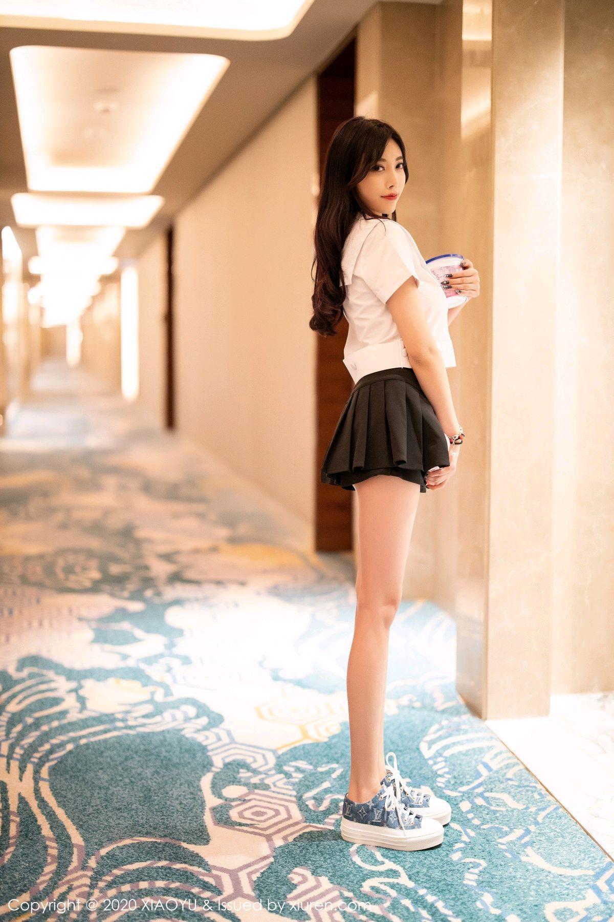 [XIAOYU] Vol.305 Yang Chen Chen 1P, Sexy, Underwear, Uniform, XiaoYu, Yang Chen Chen