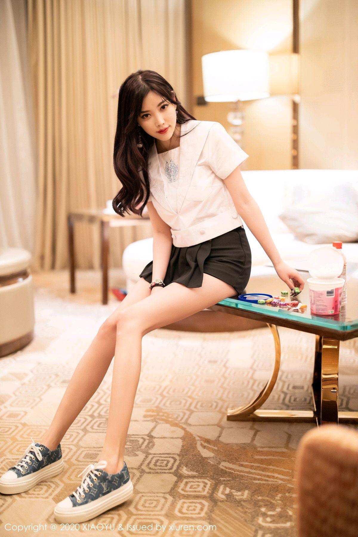 [XIAOYU] Vol.305 Yang Chen Chen 20P, Sexy, Underwear, Uniform, XiaoYu, Yang Chen Chen